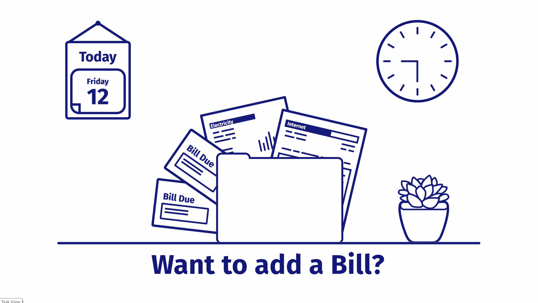 Add a Bill Animation